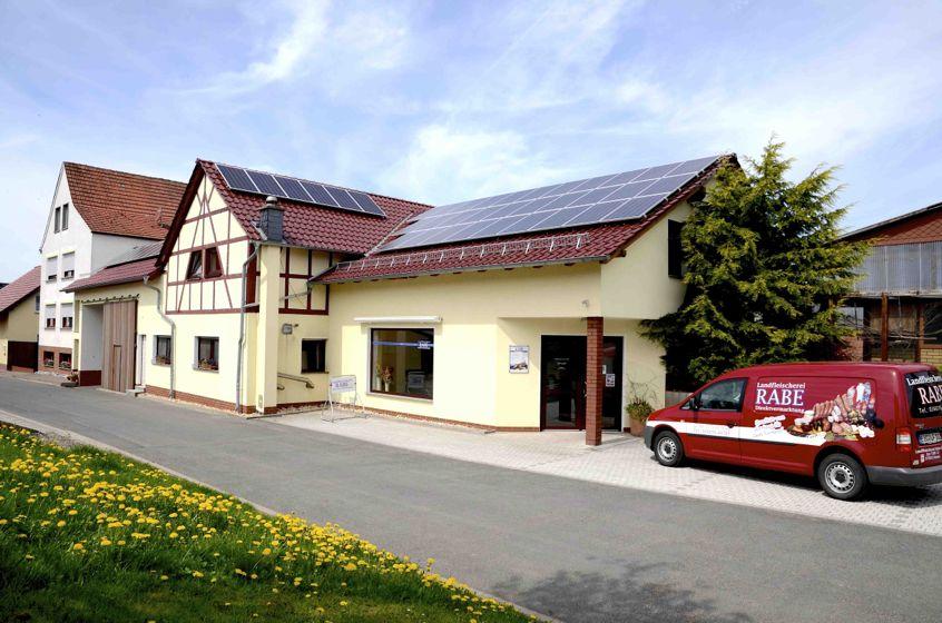 Landfleischerei-Rabe-Deuna-Eichsfeld-Thüringen-Hofladen