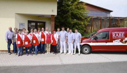 Landfleischerei-Rabe-Eichsfeld-Thüringen-Mitarbeiter